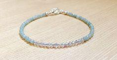 Dainty Ammonite Swarovski Crystal Minimalist Style Bracelet, Dainty Jewelry, Gifts for Her by DesignsbyLolaBelle on Etsy