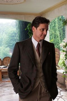"""Colin Firth as Stanley in """"Magic in the Moonlight"""""""
