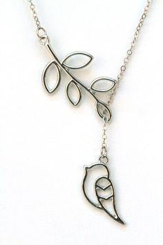 Bird on a Branch Necklace. Starting at $1 on Tophatter.com!