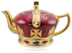 """This crown teapot has been specially modelled for Royal Collection Trust based on an early 20th century original."""