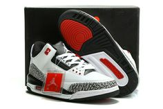 hot sales 8baf6 f0405 Buy Air Jordan 3 Retro White Black Wolf Grey Infrared Offres De Noël from Reliable  Air Jordan 3 Retro White Black Wolf Grey Infrared Offres De Noël ...