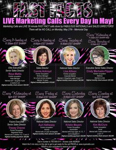 Mary Kay opportunity live calls! This is the chance that you have to make a difference in your life!  Amazing!