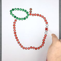 fine motor tiny dots download for preschool and kindergarte Apple Activities, Motor Skills Activities, Kindergarten Activities, Fine Motor Skills, Preschool Activities, Fall Preschool, Preschool Crafts, Daycare Crafts, Crafts For Kids