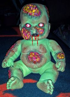 Robby the Zombie Baby by MistressRae13 on Etsy, $18.00