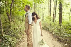 The classic artsy hipster wedding photo