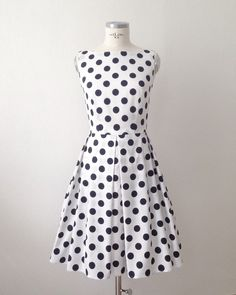 Golightly Dress in Polka dot by Suite on Etsy https://www.etsy.com/listing/212140283/golightly-dress-in-polka-dot