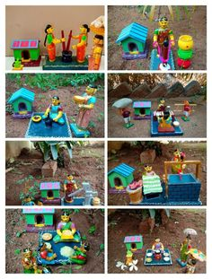 #papermachecrafts #paper #mache #crafts #indian Thali Decoration Ideas, Diwali Decorations, Festival Decorations, Paper Mache Crafts, Doll Crafts, Diy Doll, Naming Ceremony Decoration, Barbie Box, Barbie Dolls