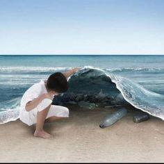 El 80% de la contaminación en el mar proviene de actividades humanas en tierra. ¡Cuidemos los océanos!