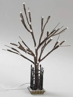 General Village Tree Accessories City Lit Bare Branch Tree - No Box 108 by Department 56 Department 56, City Lights, Tree Branches, Crystals, Box, Accessories, Snare Drum, Crystal, Crystals Minerals