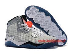 Air Jordan Spike 40 PE Chaussures Officiel Nike Pour HOmme Gris Argent  807541 ID1 Nike Pour d8e7207761e8