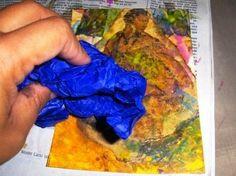 Yoli's Sacred Journey: Easy Encaustic Wax Tutorial/How To Altered Canvas, Altered Art, Wax Art, Encaustic Painting, Process Art, Thats The Way, Art Plastique, Art Techniques, Art Tutorials