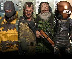 Unidad Cobra - Metal Gear Solid 3: Snake Eater #MetalGearSolid3 #SnakeEater #CobraUnit #UnidadCOBRA #volgin