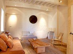 Salon matière bois