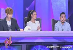 Don't you just love the different reactions and facial expressions of our judges? Saturday, please be here soon smile emoticon #KISPINOY