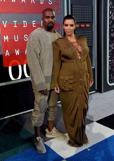 Kim Kardashian Photos - 2015 MTV Video Music Awards - Red Carpet - Zimbio