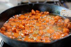 whiskey glazed carrots