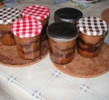 Recette - Cake en bocal - Proposée par 750 grammes Dessert Pots, Cake In A Jar, Mini Cheesecakes, French Pastries, Flan, Biscuits, Mousse, Food And Drink, Pudding