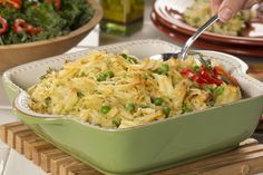 Everyday Chicken Casserole | MrFood.com Pasta Dishes, Food Dishes, Main Dishes, Potluck Dishes, Side Dishes, Slow Cooker Recipes, Cooking Recipes, Cooking Tips, Hotdish Recipes
