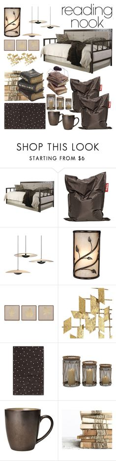 """""""Enjoying adventures of the literary nature"""" by j-k-mirsa ❤ liked on Polyvore featuring interior, interiors, interior design, home, home decor, interior decorating, Nook, Fatboy and JLA Home"""