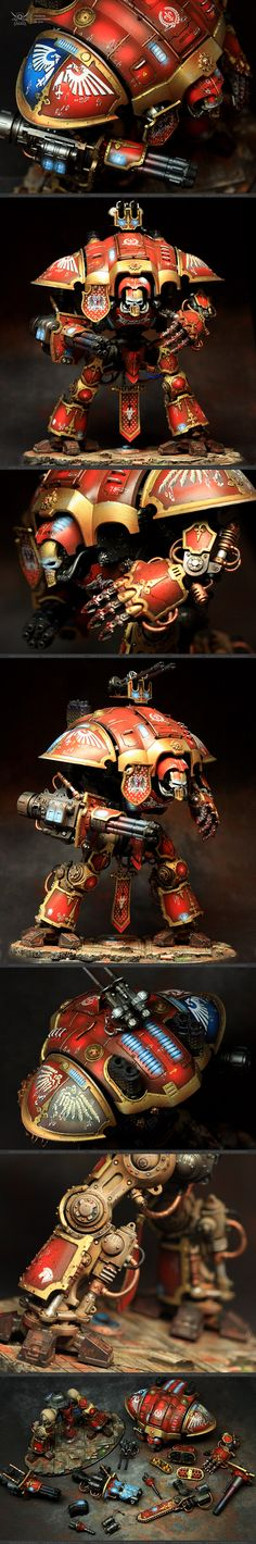 Imperial Knight Warden / Gallant