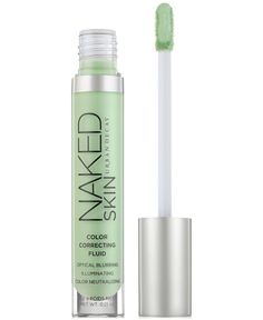 We've all got our vices. The last thing you need is for the evidence of those sins to be visible all over your pretty face. Enter Naked Skin Color Correcting Fluid from Urban Decay. This innovative, l