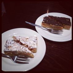 Caramel and J'adore slices of cake! :D - @marcuspang- #webstagram