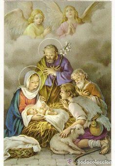 -56197 POSTAL NAVIDAD, RELIGIOSA DIBUJO PORTAL DE BELEN, NAVIDAD, Nº 630 (Postales - Navidad)