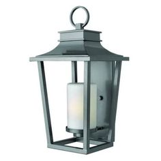 Hinkley Lighting 1745-LED 1 Light 23 Height LED Outdoor Lantern Wall Sconce from the Sullivan Collection (