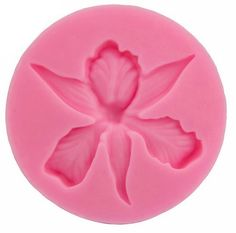 Orchid flower Shape Embossing Fondant Cake Decorating Tools Moulds Sugar Art Tools,silicon mold 3D fondant Clay Sugarcraft cake topper by ToonTopper on Etsy
