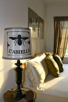 "French ""the bee"" lamp"