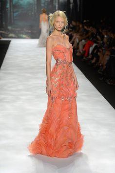 Badgley Mischka Spring 2013 collection at New York Fashion Week.