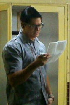 Zak Bagans sexy teacher look
