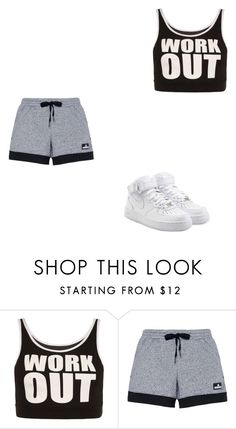 """Work Out"" by breezybrebre on Polyvore featuring beauty, WearAll, adidas and NIKE"