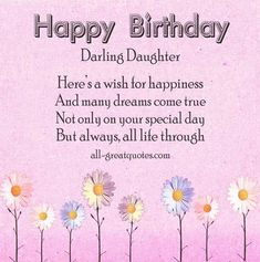 Happy Birthday Wiches Sending Wishes To My Gorgeous Daughter