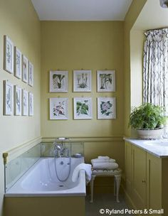yellow bath / from Perfect English, Ros Byam Shaw