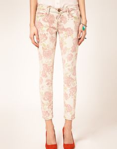 Never in my life have I seen floral pants that I like...until just now.
