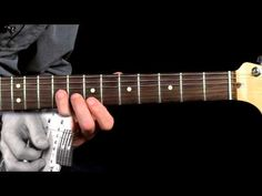How To Play A Blues Rock Lick Gary Moore Style - YouTube