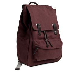 Everlane Snap Backpack Burgundy $65