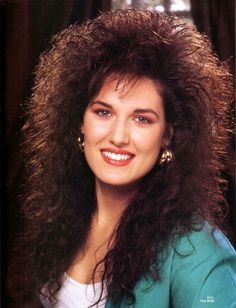 11 Cringing Childhood Memories Just Won't Fade Away Perm Mine had a mind of it's own – my hair got so big when I washed it! Eighties Hair, 80s Big Hair, Pelo Retro, Post Mortem, Hair Magazine, Hairstyle Magazine, Permed Hairstyles, 1980s Hairstyles, Hair Brained