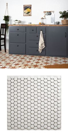 Rejuvenate a kitchen or bathroom wall or floor space with these trendy Circular White Matt Mosaic Tiles. These penny mosaics are made from durable porcelain. White Mosaic Tiles, Kitchen Walls, Wall And Floor Tiles, Splashback, Floor Space, Bathroom Wall, Mesh, Shapes, Flooring