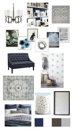 Plans for our Master Bedroom and mood board - Bower Power