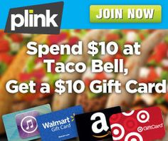 Eat Out with Plink and Get a free $10 Gift Card!