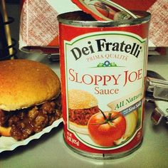 Your familys Sloppy Joes never had it so good with #DeiFratelli Sloppy Joe Sauce adding a robust tomato flavor to this classic favorite.  #SloppyJoe #Dinner #Food #QuickDinner #EasyDinner #SloppyJoeSauce #FoodKidsLove