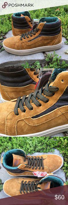 f386b7e2b1 Vans SK8-Hi MTE Suede Cathay Hummus Shoes Vans SK8-Hi MTE Suede Cathay
