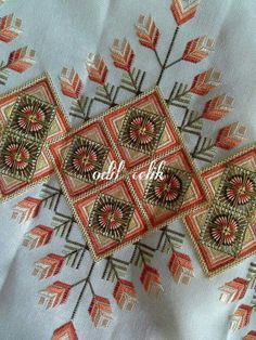 Hardanger Embroidery, Ribbon Embroidery, Floral Embroidery, Cross Stitch Embroidery, Embroidery Patterns Free, Cross Stitch Patterns, Embroidery Designs, Bargello Needlepoint, Monks Cloth