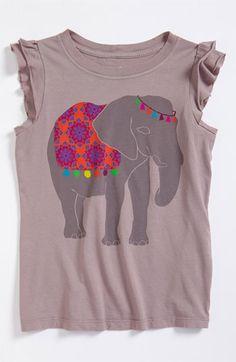 Peek 'Elephant' Tee (Toddler, Little Girls & Big Girls) available at Nordstrom