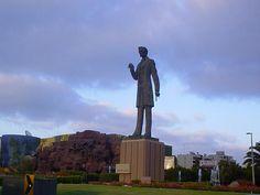 Statue of Abraham Lincoln in Tijuana, Mexico