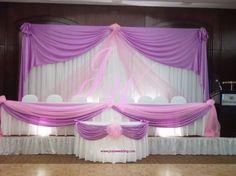 Pink and Purple #Wedding #Decoration