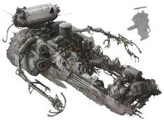 Cerberus concept (Maschinen Krieger ZbV3000)