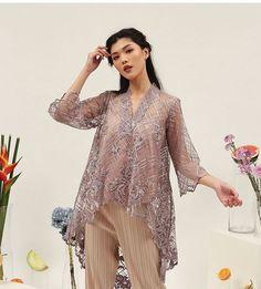Kebaya Lace, Kebaya Hijab, Batik Kebaya, Batik Dress, Dress Brokat Modern, Kebaya Modern Dress, Dress Brukat, Hijab Dress Party, Model Dress Kebaya